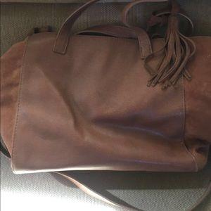 AEO leather crossbody purse
